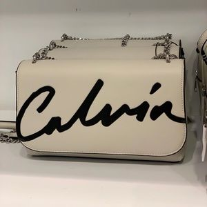 CK ladies chain bag